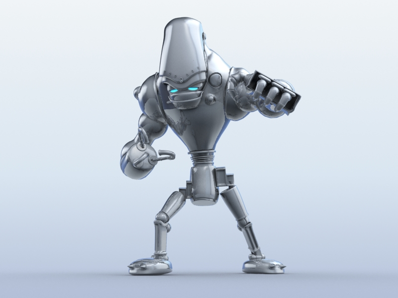 robot 13 3d model 3ds max fbx obj 209264