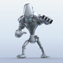 Robot 13 3d model 3ds max fbx obj