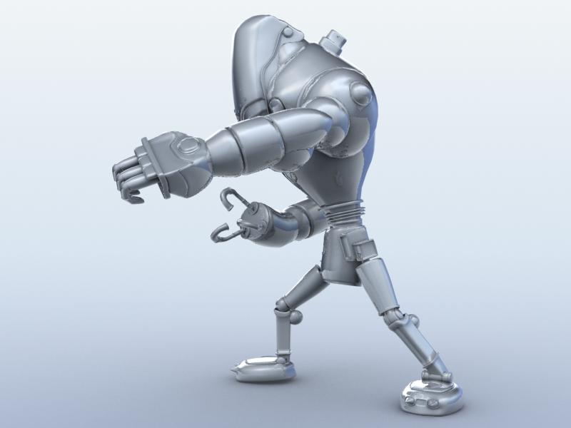 robot 13 3d model 3ds max fbx obj 209265