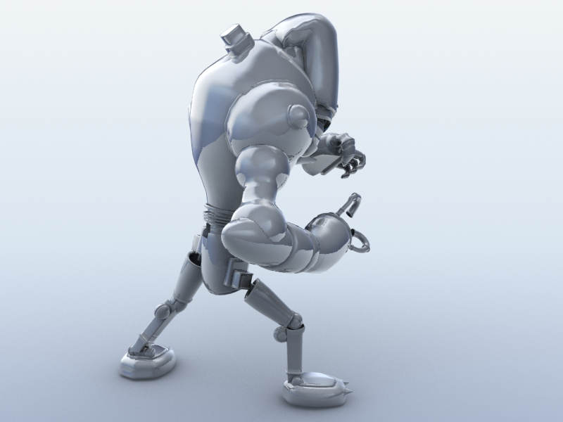 robot 13 3d model 3ds max fbx obj 209266