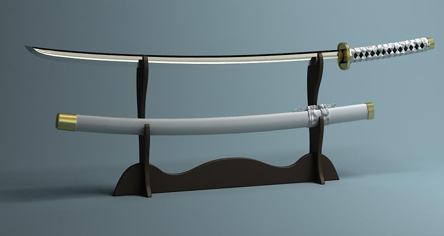 Японы katana цуглуулах 3d загвар 3ds max fbx obj 209316