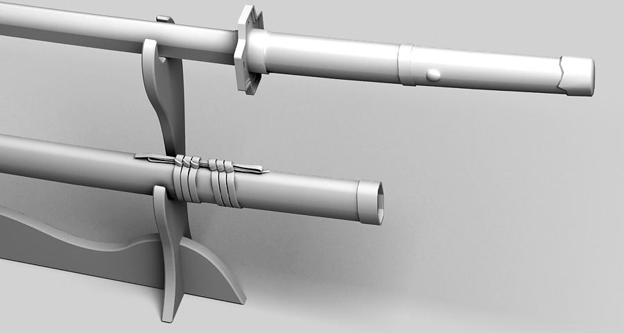 Японы katana цуглуулах 3d загвар 3ds max fbx obj 209327