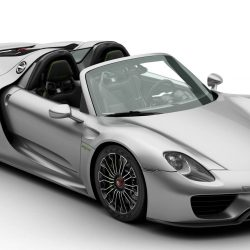Porsche 918 Spyder with detachable roof 3d model 0
