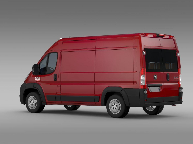 ram promaster cargo 1500 hr 136wb 2015 3d model 3ds max fbx c4d lwo ma mb hrc xsi obj 209385
