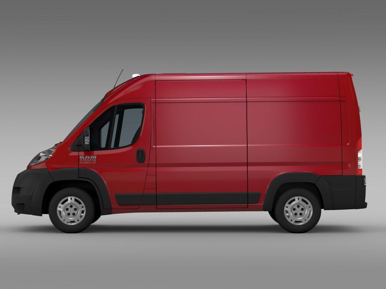 ram promaster cargo 1500 hr 136wb 2015 3d model 3ds max fbx c4d lwo ma mb hrc xsi obj 209386