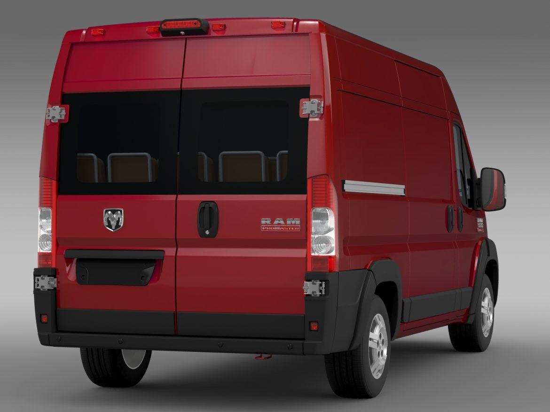 ram promaster cargo 1500 hr 136wb 2015 3d model 3ds max fbx c4d lwo ma mb hrc xsi obj 209388