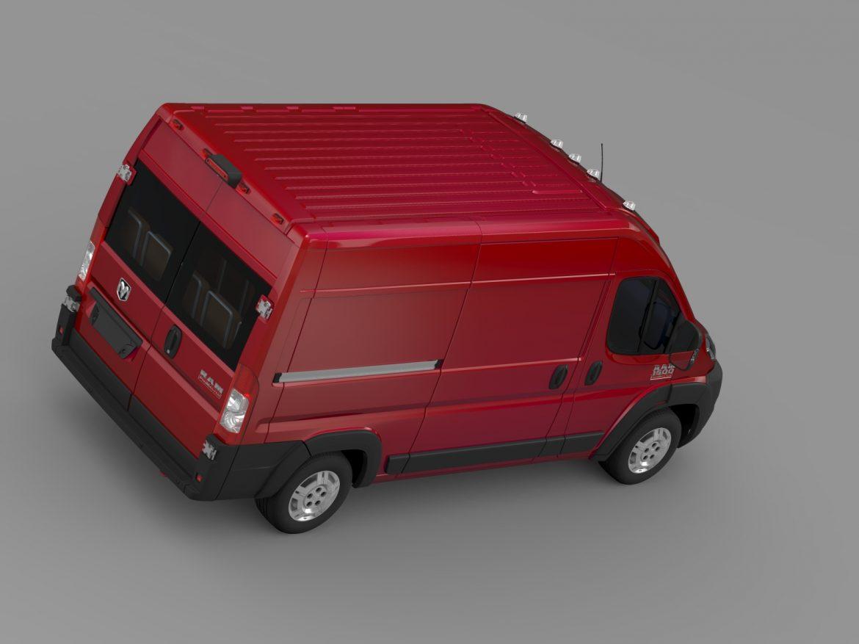 ram promaster cargo 1500 hr 136wb 2015 3d model 3ds max fbx c4d lwo ma mb hrc xsi obj 209389