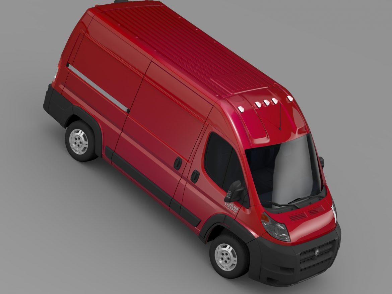 ram promaster cargo 1500 hr 136wb 2015 3d model 3ds max fbx c4d lwo ma mb hrc xsi obj 209390