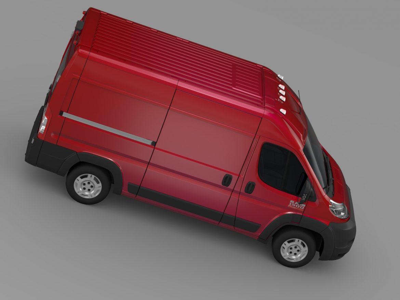 ram promaster cargo 1500 hr 136wb 2015 3d model 3ds max fbx c4d lwo ma mb hrc xsi obj 209391
