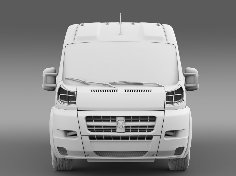 ram promaster cargo 1500 hr 136wb 2015 3d model 3ds max fbx c4d lwo ma mb hrc xsi obj 209392