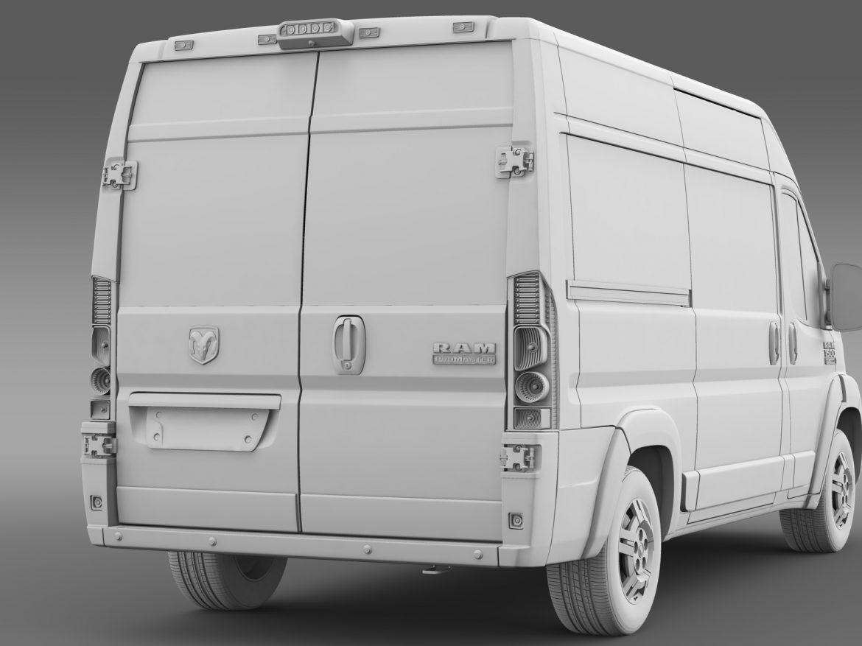 ram promaster cargo 1500 hr 136wb 2015 3d model 3ds max fbx c4d lwo ma mb hrc xsi obj 209395