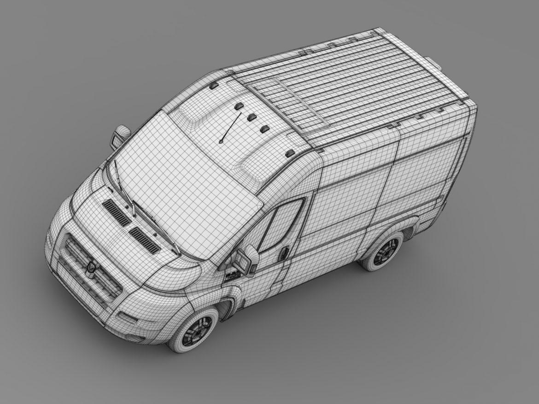 ram promaster cargo 1500 hr 136wb 2015 3d model 3ds max fbx c4d lwo ma mb hrc xsi obj 209396