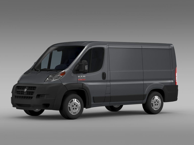 ram promaster cargo 1500 lr 118wb 2015 3d model 3ds max fbx c4d lwo ma mb hrc xsi obj 209404
