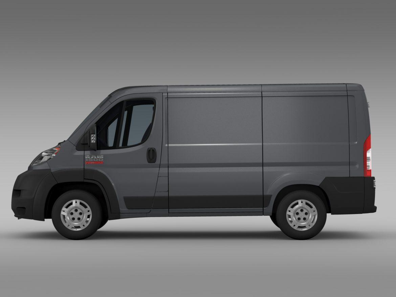 ram promaster cargo 1500 lr 118wb 2015 3d model 3ds max fbx c4d lwo ma mb hrc xsi obj 209405