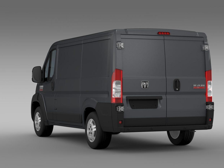 ram promaster cargo 1500 lr 118wb 2015 3d model 3ds max fbx c4d lwo ma mb hrc xsi obj 209407