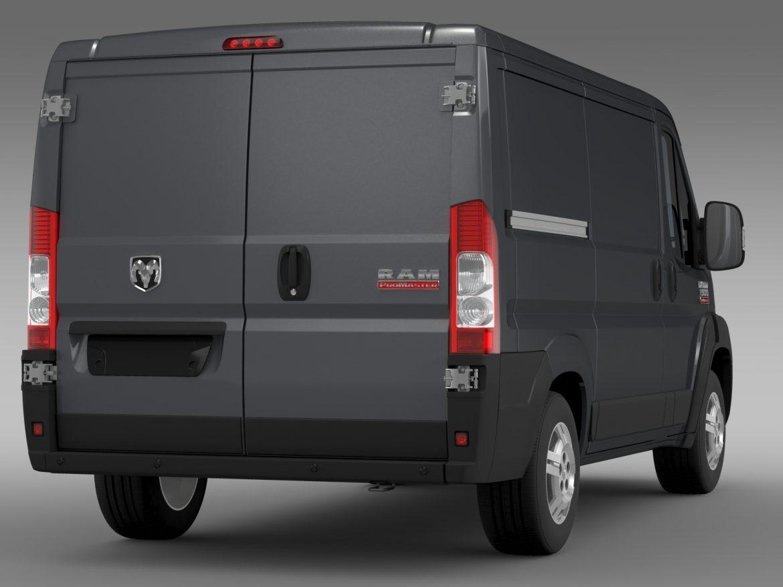 ram promaster cargo 1500 lr 118wb 2015 3d model 3ds max fbx c4d lwo ma mb hrc xsi obj 209408