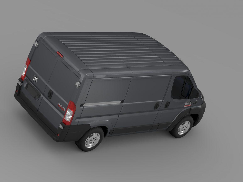 ram promaster cargo 1500 lr 118wb 2015 3d model 3ds max fbx c4d lwo ma mb hrc xsi obj 209409