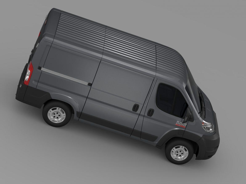 ram promaster cargo 1500 lr 118wb 2015 3d model 3ds max fbx c4d lwo ma mb hrc xsi obj 209410