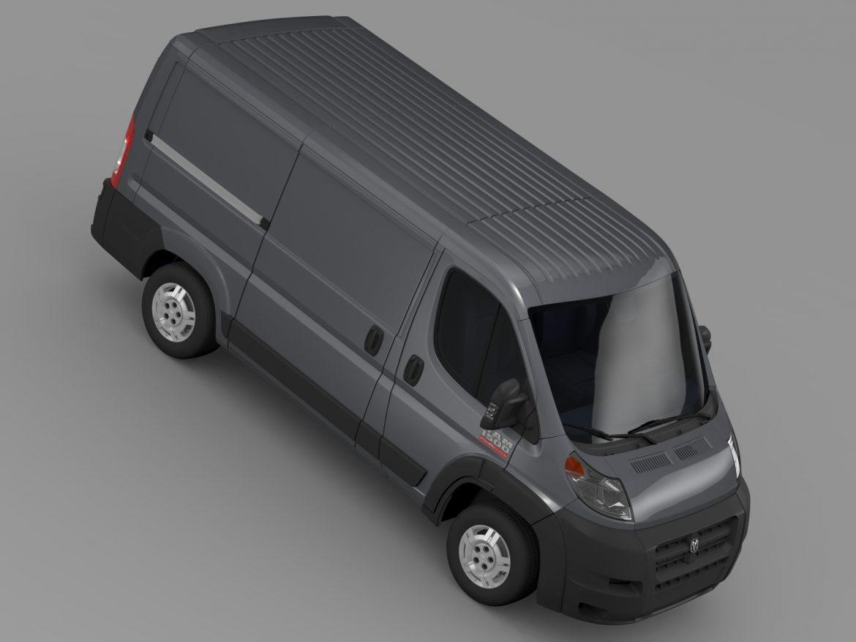 ram promaster cargo 1500 lr 118wb 2015 3d model 3ds max fbx c4d lwo ma mb hrc xsi obj 209411