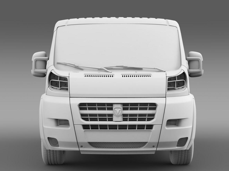 ram promaster cargo 1500 lr 118wb 2015 3d model 3ds max fbx c4d lwo ma mb hrc xsi obj 209412