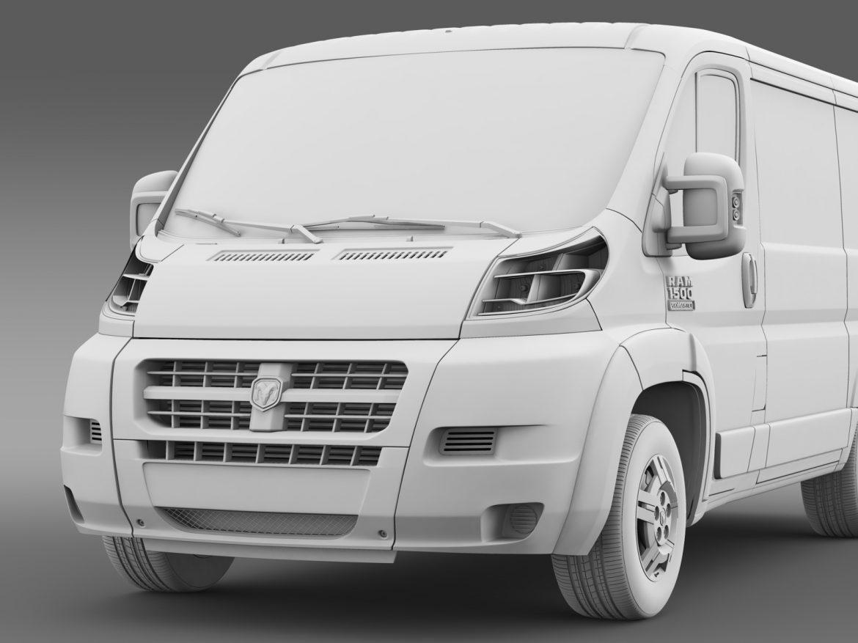 ram promaster cargo 1500 lr 118wb 2015 3d model 3ds max fbx c4d lwo ma mb hrc xsi obj 209414