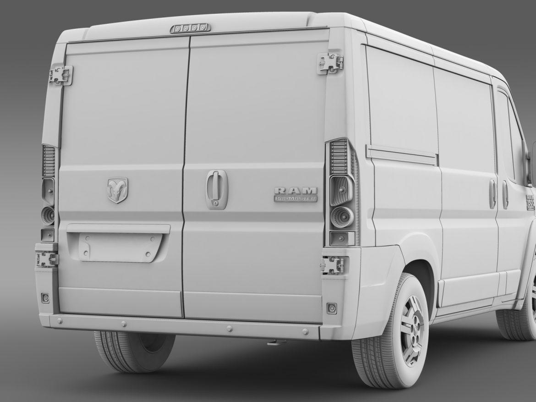ram promaster cargo 1500 lr 118wb 2015 3d model 3ds max fbx c4d lwo ma mb hrc xsi obj 209415