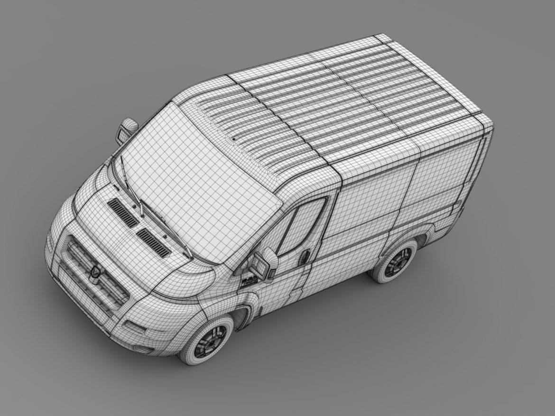 ram promaster cargo 1500 lr 118wb 2015 3d model 3ds max fbx c4d lwo ma mb hrc xsi obj 209416
