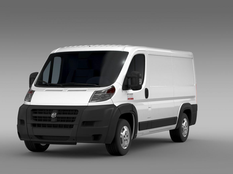 ram promaster cargo 1500 lr 136wb 2015 3d model 3ds max fbx c4d lwo ma mb hrc xsi obj 209423