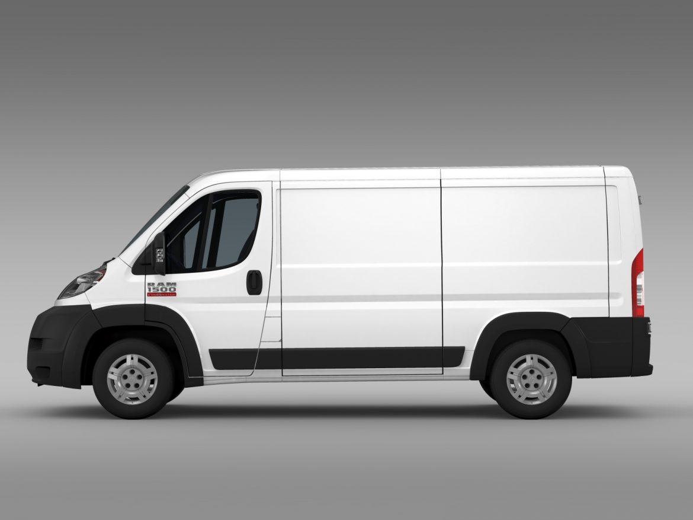 ram promaster cargo 1500 lr 136wb 2015 3d model 3ds max fbx c4d lwo ma mb hrc xsi obj 209425