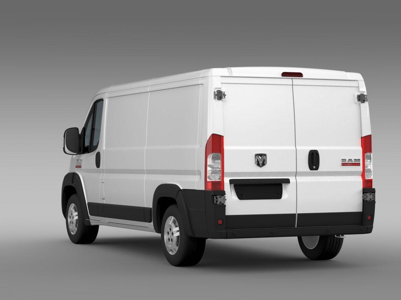 ram promaster cargo 1500 lr 136wb 2015 3d model 3ds max fbx c4d lwo ma mb hrc xsi obj 209427