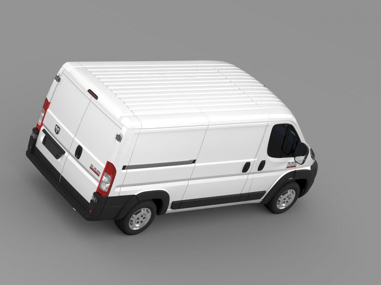 ram promaster cargo 1500 lr 136wb 2015 3d model 3ds max fbx c4d lwo ma mb hrc xsi obj 209429