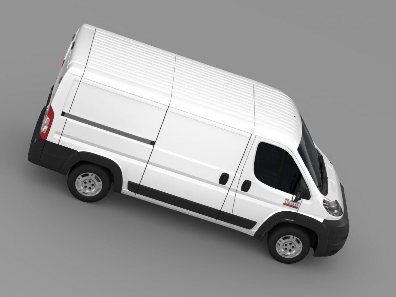 ram promaster cargo 1500 lr 136wb 2015 3d model 3ds max fbx c4d lwo ma mb hrc xsi obj 209430