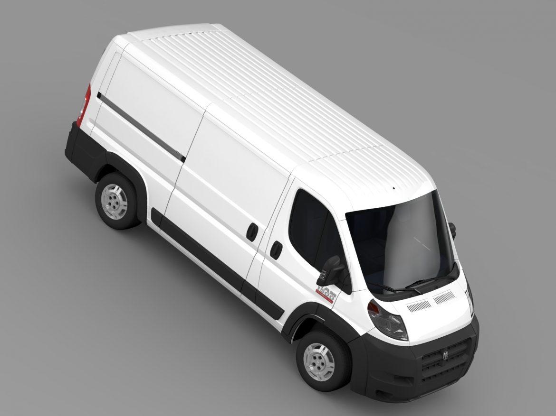 ram promaster cargo 1500 lr 136wb 2015 3d model 3ds max fbx c4d lwo ma mb hrc xsi obj 209431