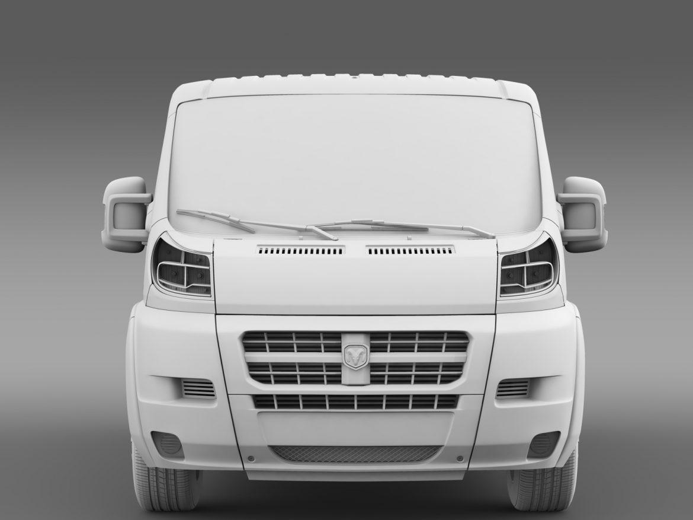ram promaster cargo 1500 lr 136wb 2015 3d model 3ds max fbx c4d lwo ma mb hrc xsi obj 209432