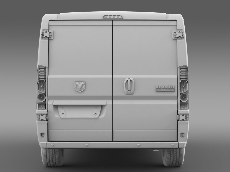 ram promaster cargo 1500 lr 136wb 2015 3d model 3ds max fbx c4d lwo ma mb hrc xsi obj 209433