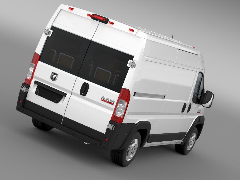 ram promaster cargo 2500 hr 136wb 2015 3d model 3ds max fbx c4d lwo ma mb hrc xsi obj 209440