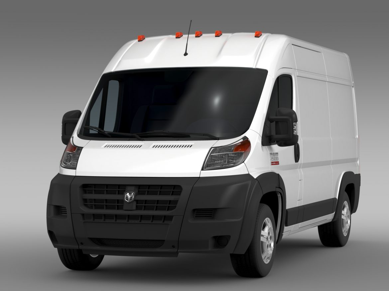 ram promaster cargo 2500 hr 136wb 2015 3d model 3ds max fbx c4d lwo ma mb hrc xsi obj 209441