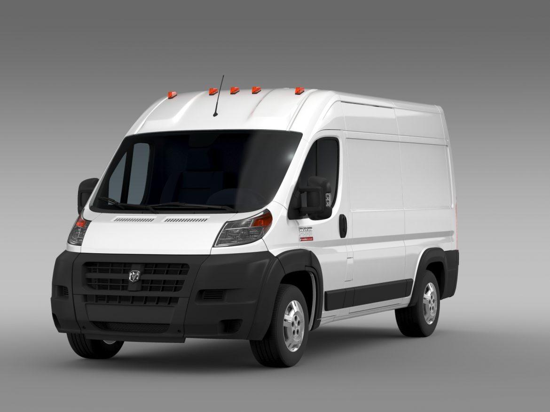 ram promaster cargo 2500 hr 136wb 2015 3d model 3ds max fbx c4d lwo ma mb hrc xsi obj 209442