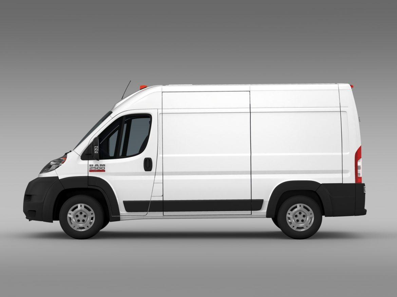 ram promaster cargo 2500 hr 136wb 2015 3d model 3ds max fbx c4d lwo ma mb hrc xsi obj 209444