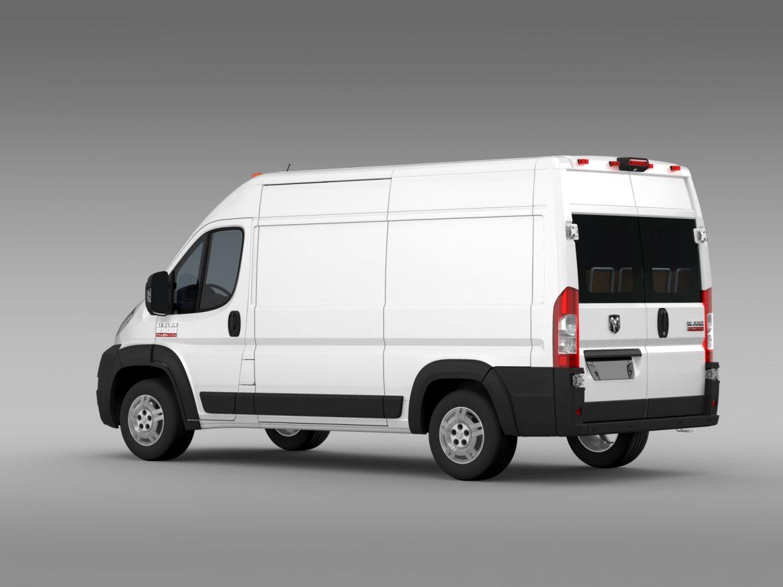 ram promaster cargo 2500 hr 136wb 2015 3d model 3ds max fbx c4d lwo ma mb hrc xsi obj 209445
