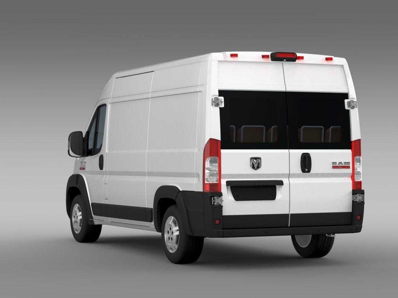 ram promaster cargo 2500 hr 136wb 2015 3d model 3ds max fbx c4d lwo ma mb hrc xsi obj 209446