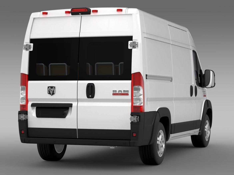 ram promaster cargo 2500 hr 136wb 2015 3d model 3ds max fbx c4d lwo ma mb hrc xsi obj 209447