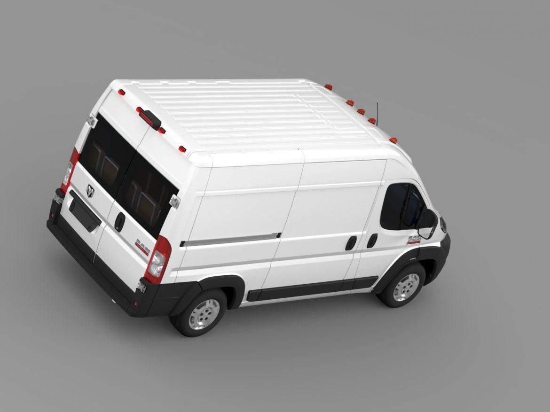 ram promaster cargo 2500 hr 136wb 2015 3d model 3ds max fbx c4d lwo ma mb hrc xsi obj 209448