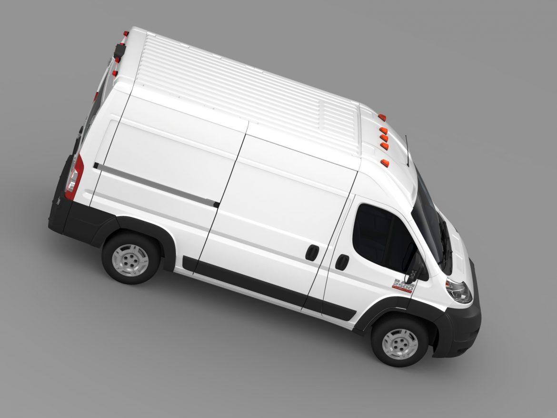 ram promaster cargo 2500 hr 136wb 2015 3d model 3ds max fbx c4d lwo ma mb hrc xsi obj 209449