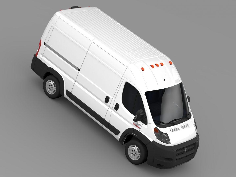 ram promaster cargo 2500 hr 136wb 2015 3d model 3ds max fbx c4d lwo ma mb hrc xsi obj 209450