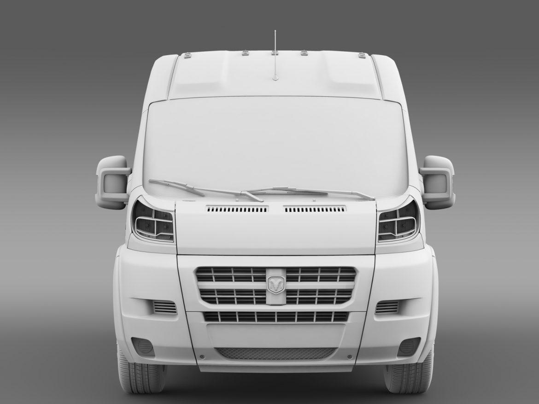 ram promaster cargo 2500 hr 136wb 2015 3d model 3ds max fbx c4d lwo ma mb hrc xsi obj 209451