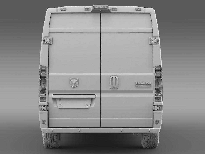ram promaster cargo 2500 hr 136wb 2015 3d model 3ds max fbx c4d lwo ma mb hrc xsi obj 209452