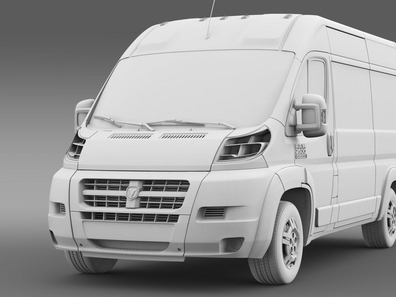 ram promaster cargo 2500 hr 136wb 2015 3d model 3ds max fbx c4d lwo ma mb hrc xsi obj 209453