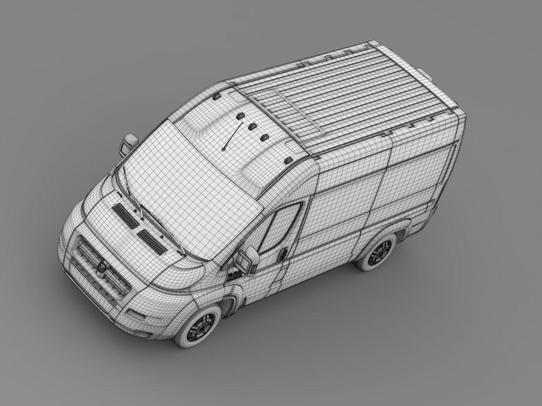 ram promaster cargo 2500 hr 136wb 2015 3d model 3ds max fbx c4d lwo ma mb hrc xsi obj 209455