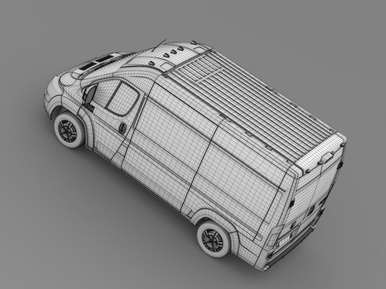 ram promaster cargo 2500 hr 136wb 2015 3d model 3ds max fbx c4d lwo ma mb hrc xsi obj 209457